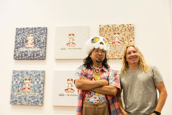 VAULT BY VANS X TAKASHI MURAKAMI COLLECTION LAUNCHES IN PARIS AT MEN'S FASHION WEEK