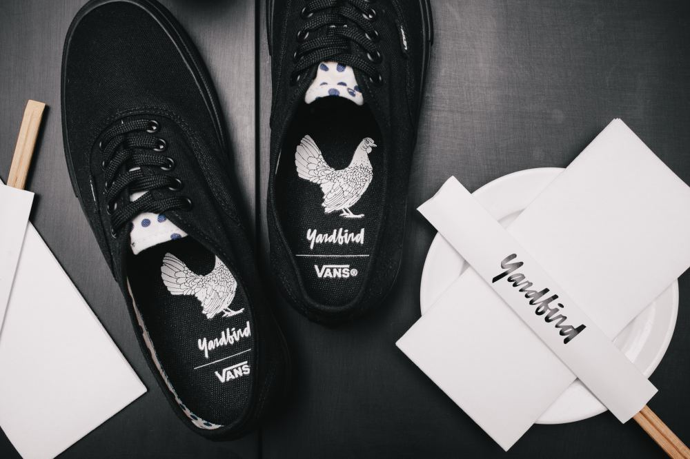 VANS & YARDBIRD COLLABORATE TO LAUNCH LIMITED FAMILY PACK