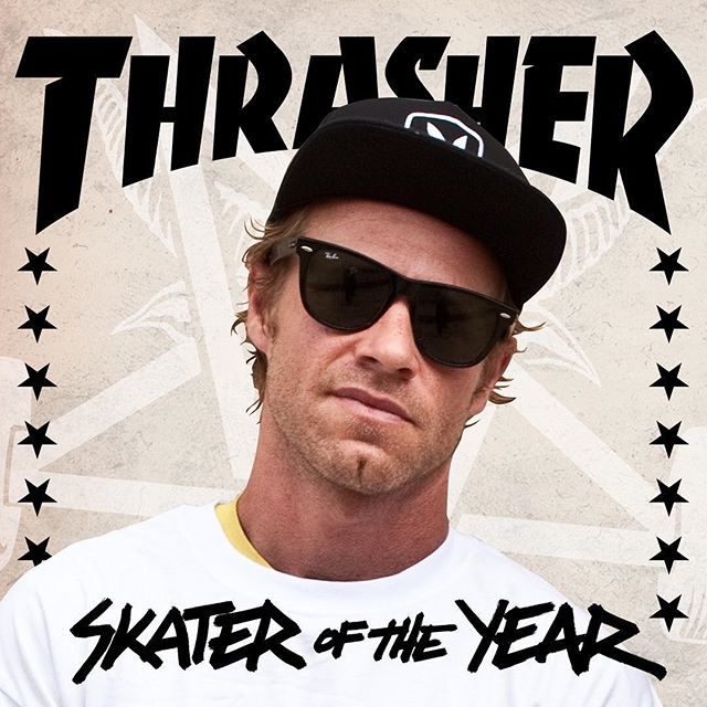 ANTHONY VAN ENGELEN IS THRASHER SKATER OF THE YEAR!