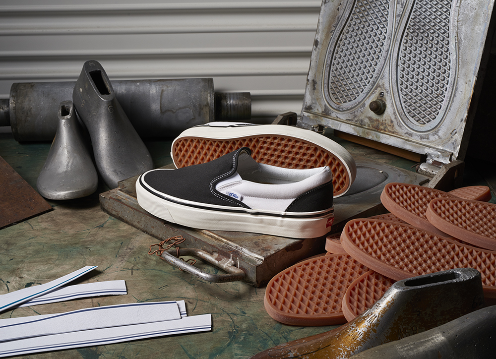 VANS ANAHEIM FACTORY COLLECTION REVIVES CLASSIC FOOTWEAR STYLES FROM THE ARCHIVES