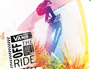 """VANS ENABLES CREATIVE SELF EXPRESSION THROUGH THE """"OFF THE WALLRIDE' VIDEO CONTEST"""