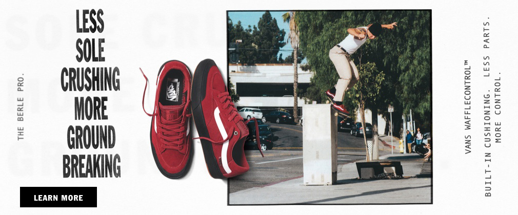 VANS' FIRST LOOK INTO PRO SKATER ELIJAH BERLE'S SIGNATURE SHOE