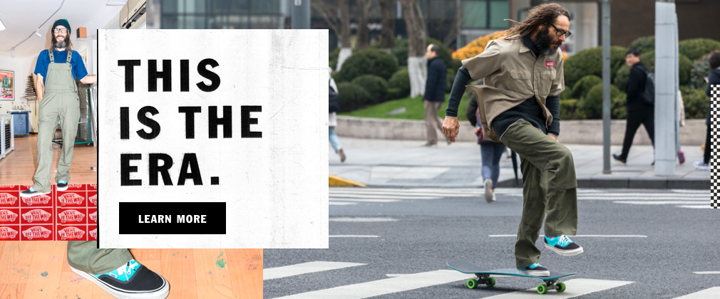 """""""THIS IS THE ERA"""" COLLECTION FEATURING SKATEBOARDING LEGEND TONY ALVA AND CREATIVE INDIVIDUALS"""
