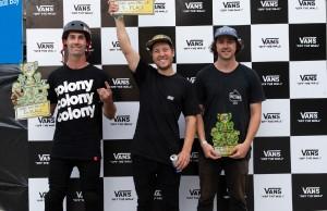 西班牙 BMX 車手 SERGIO LAYOS 和 TERESA AZCOAGA 在悉尼贏得 VANS BMX 職業杯