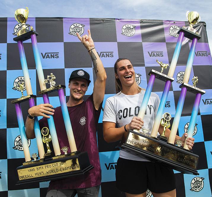 2019 VANS BMX PRO CUP CHAMPIONS