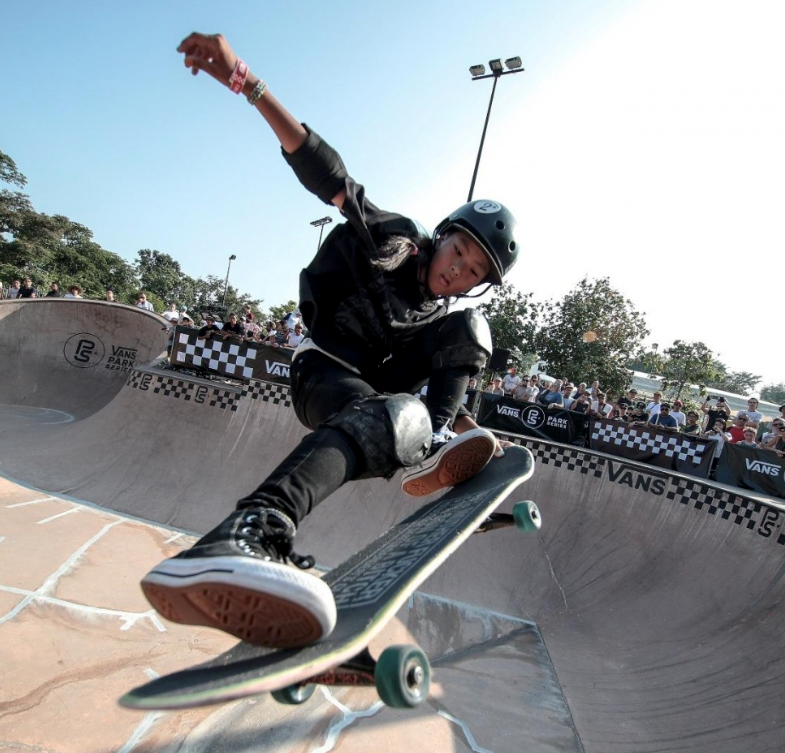 VANS PARK SERIES ASIA PARK TERRAIN SKATEBOARDING REGIONALS COMPETITION IN JAPAN