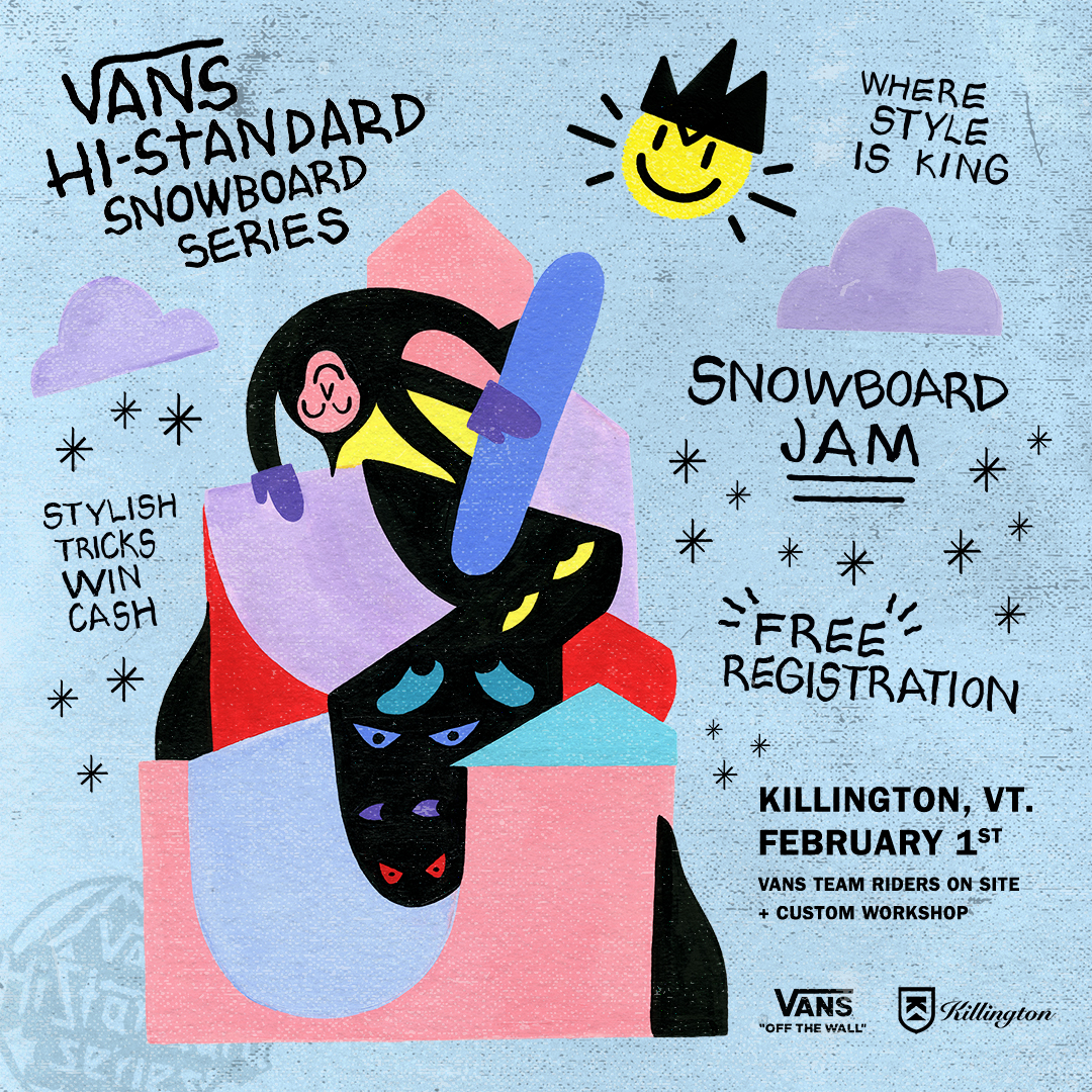 VANS ANNOUNCES 2020 HI-STANDARD SNOW SERIES WORLD TOUR DATES