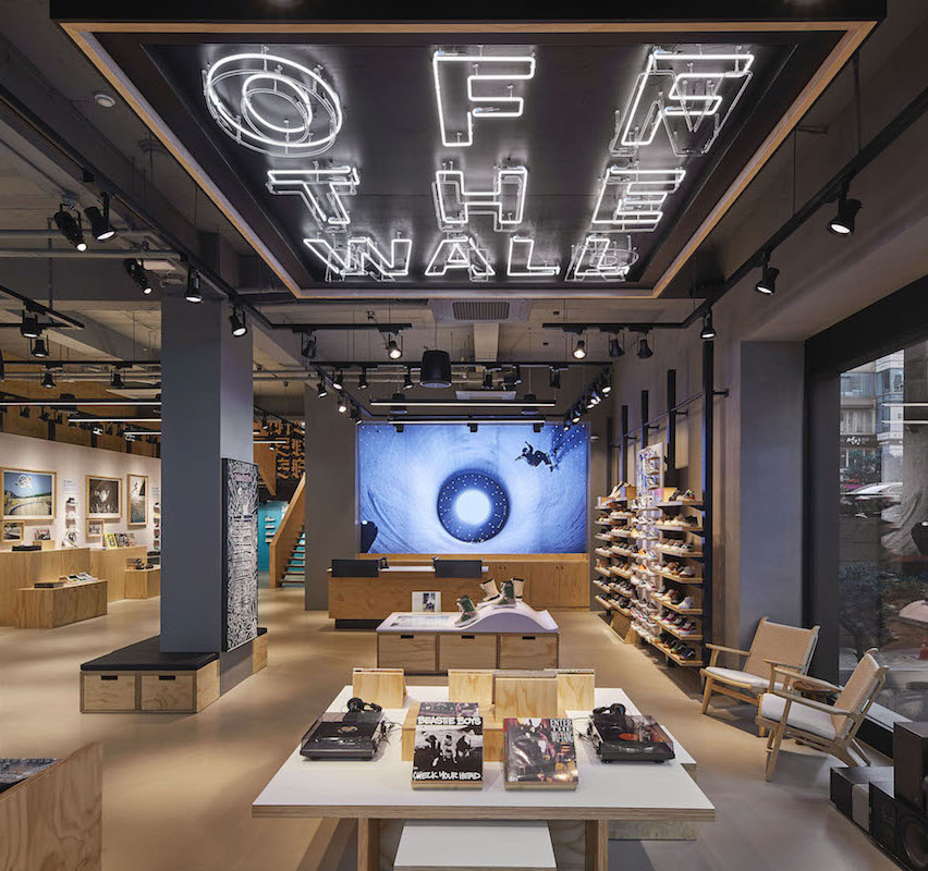 VANS OPENS ASIA'S FIRST BRAND SHOWCASE STORE IN THE CENTER OF GANGNAM, SEOUL