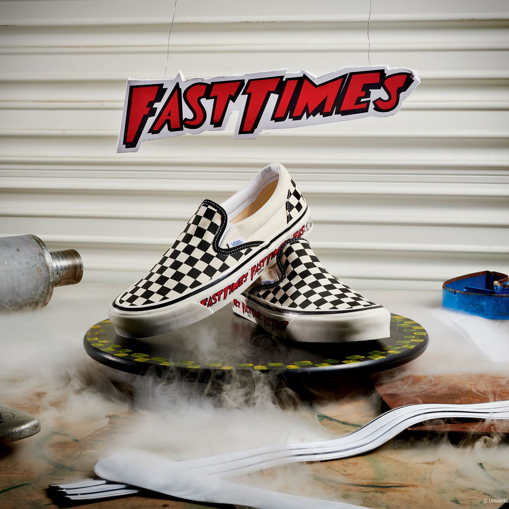 "VANS TO REISSUE ""FAST TIMES"" CHECKERBOARD SLIP-ON THROUGH ANAHEIM FACTORY COLLECTION"