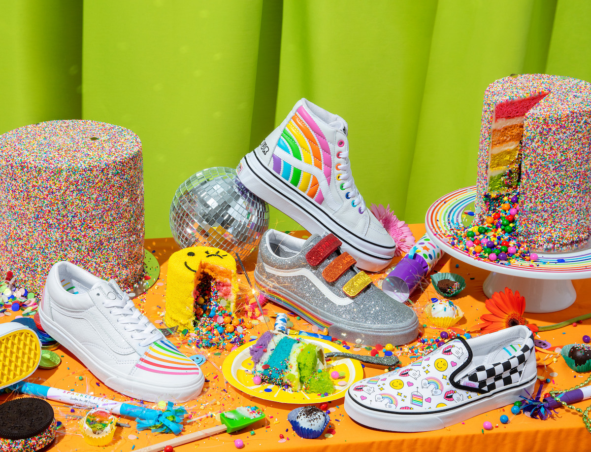 Vans Bakes Rainbow Explosions with
